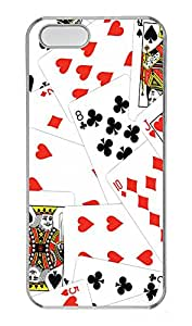 iPhone 5s Case, iPhone 5s Cases - Cards Custom Design iPhone 5s Case Cover - Polycarbonate¨CTransparent