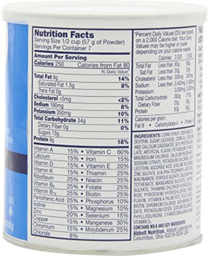 Boost Original Complete Nutritional Drink Vanilla Delight: Ensure Original Nutrition Powder Vanilla. 14 Ounces (Value