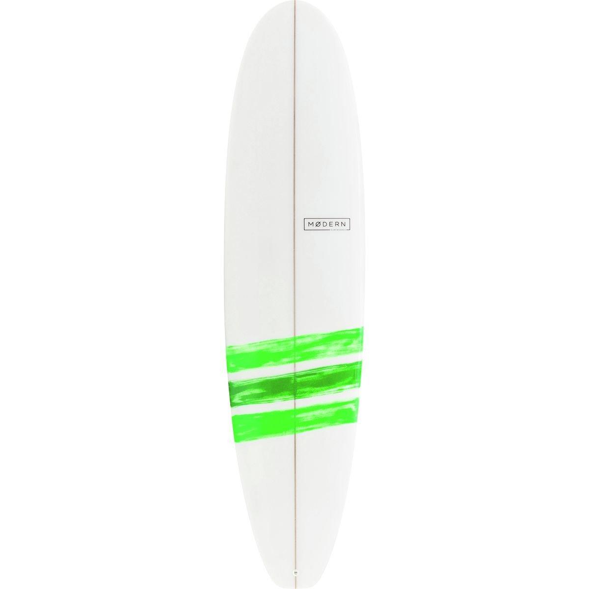 Modern Surfboards Blackbird Pu Longboard Surfboard Basic Lime 7ft