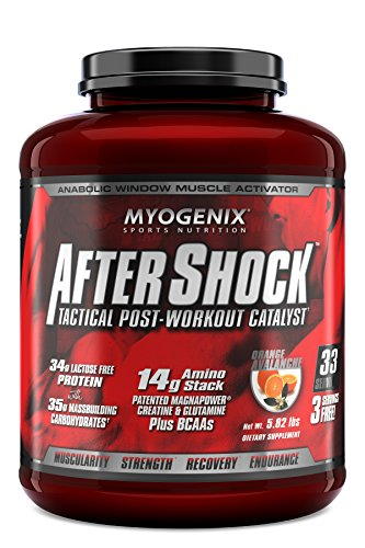 Myogenix Aftershock Orange Avalanche 5.82Lb Review