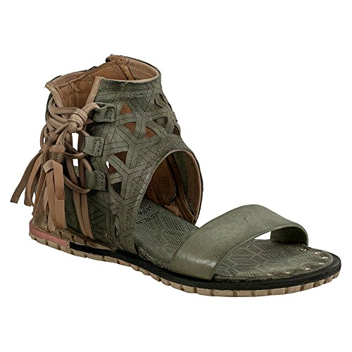 As98 Petrona Kvinnor Kil Sandal Moss