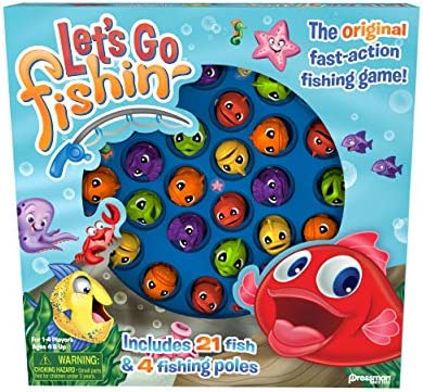 picture of Let's Go Fishin' Game by Pressman » The Original Fast