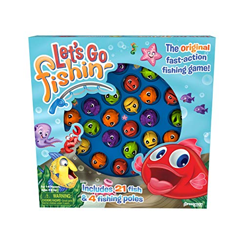 Let's Go Fishin' Game by Pressman - The Original Fast-Action Fishing Game!
