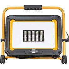 Brennenstuhl foco LED JARO 9000 M/proyector LED portátil de construcción para trabajo exterior (IP65, cable de 5m, 100W, luz de trabajo portátil y iluminación exterior)