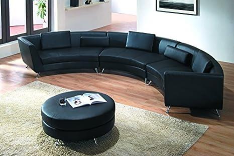 Divano Componibile Curvo : Moderna linea mobili 8004b g5 divano curvo componibile in stile