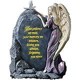 Precious Angel Lighted Memorial Stone