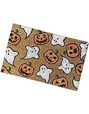Halloween Deurmat Welkom Mat Pumpkin en Ghost Patroon Deurmat Antislip Bad Rug Indoor Outdoor Entree Badkamer Deurvloer Matten Tapijt 40x60cm Stijl 15
