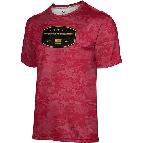 ProSphere Boys' Camptonville Fire Department Digital Shirt (Apparel) get discount