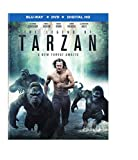 The Legend of Tarzan (Blu-ray + DVD + Digital HD UltraViolet Combo Pack)