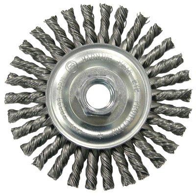 4' Stringer Bead Twist Wire - Radnor 4'' X 5/8'' - 11'' Carbon Steel Knot Wire W