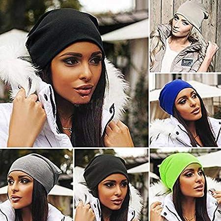 Doitsa Sombrero de punto Hip hop gorras de camionero Color del caramelo Moda Turbante estilo Hombres y mujeres