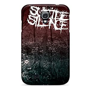 LauraAdamicska Samsung Galaxy S4 Best Hard Phone Cases Customized Nice Suicide Silence Skin [Iif2224GgVi]