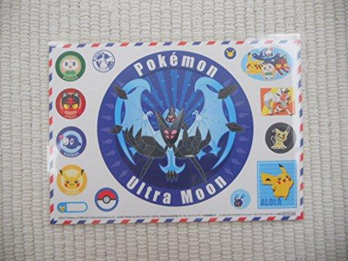 3DS ポケットモンスター ウルトラムーン トイザらス特典 オリジナルステッカーの商品画像