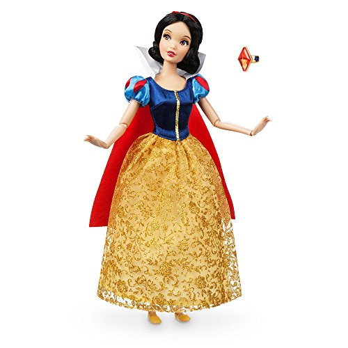 Disney Classics Dolls (Disney Snow White Classic Doll with Ring - 11 1/2)