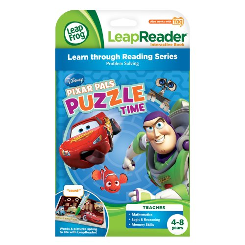 LeapFrog Tag Game Book: Pixar Pals Puzzle Time by LeapFrog (Image #2)