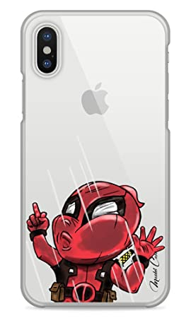 coque iphone xr transparent motif