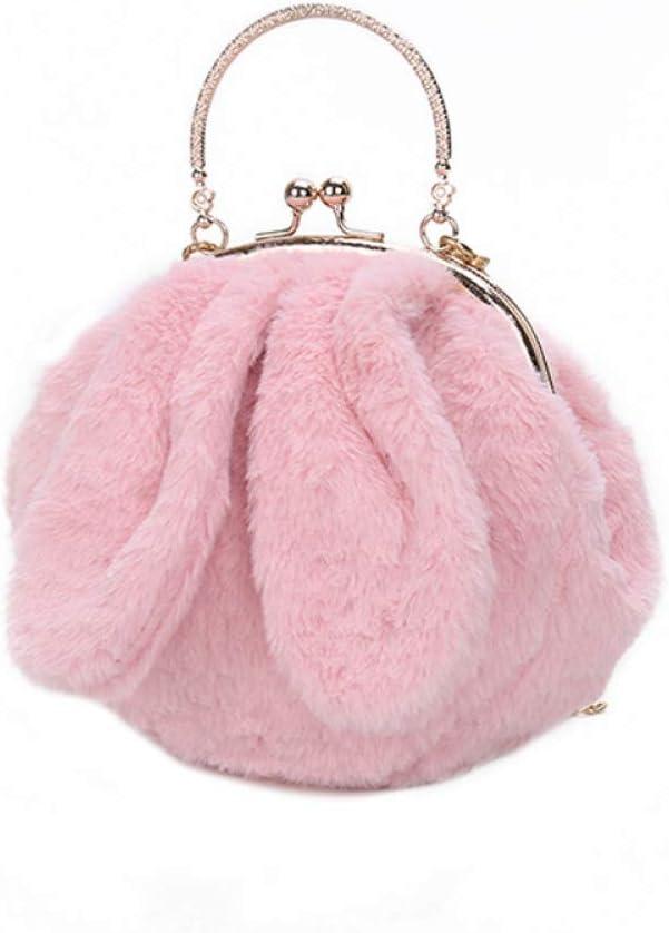 Winter Kids Girl Lovely Bowknot Mini Single Shoulder Crossbody Bag Handbag