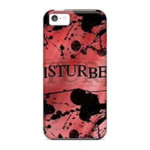 Durable Cell-phone Hard Covers For Iphone 5c With Customized High Resolution Disturbed Image Marycase88