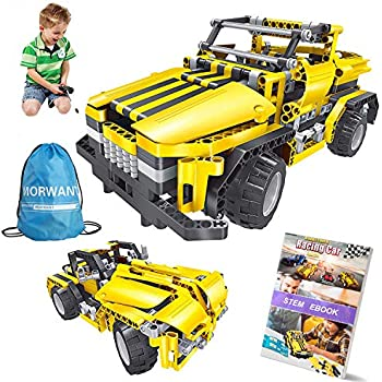 STEM Toys For Boys And Girls426 Pieces Educational Engineering Building Blocks Kits Kids 7 8 9 10 Years Old