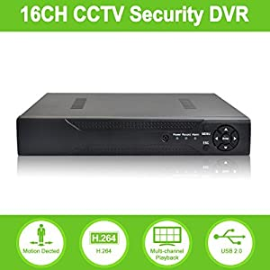 ABOWONE DVR Recorder H.264 CCTV Security Surveillance System Digital Video Recorder
