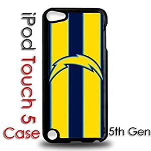 IPod 5 Touch Black Plastic Case - San Diego Chargers Football