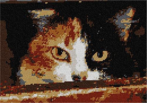 pepita Menacing Cat Needlepoint - Cat Needlepoint Kit