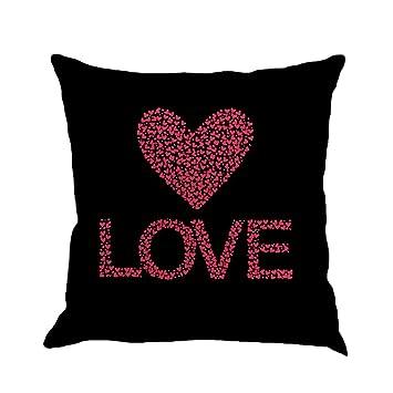 Amazon.com: esharing romántico fundas de almohada 18