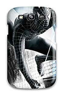 2003107K96551581 premium Phone Case For Galaxy S3/ Spider Man 3 Hd Tpu Case Cover