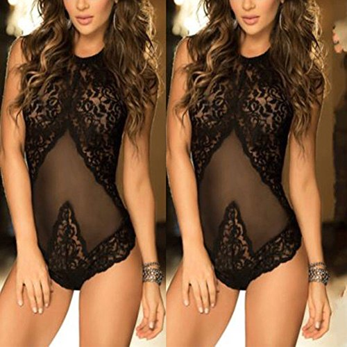 Lace Underwear Sleepwear Dress 16 Black Lot Nightwear Lingerie XL Bodysuit Women Babydoll w5qBfCH