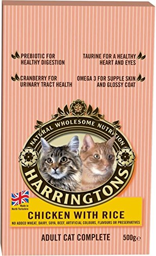 Harrington's Cat Complete Chicken & Rice (500g) - Pack of - 500g Drink