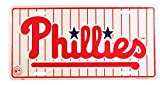 Phillies Tin Sign 12 x 6in