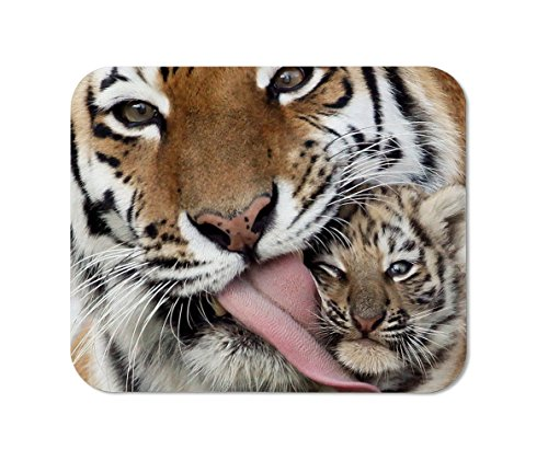 - High Quality Tigress and cub Tiger Mouse Pad, Mousepad (Tiger Mouse Pad)