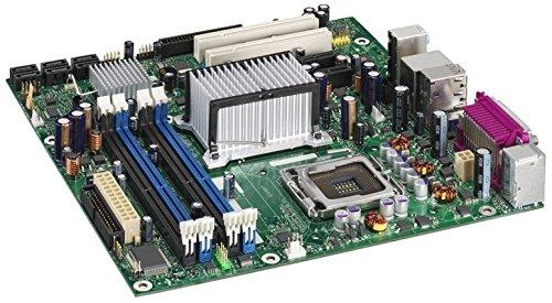 Intel BLKDQ965GFEKR Conroe LGA775 1066 800FSB DDR2 A/V Lan Raid SATA mATX Motherboard (Lga775 Pentium Motherboard 4)