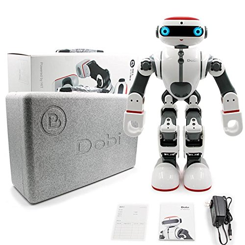Intelligent Humanoid Robot Dobi Kids Toy Robot Voice/APP Control Toy with Dance/ Yoga/ Storytelling Kid's Suprise Gifts Accompany Friend by OUKU (Image #8)