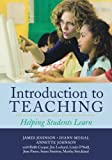 img - for Introduction to Teaching: Helping Students Learn book / textbook / text book