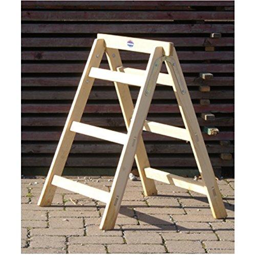 Arbeitsbock Tapezierbock aus Holz 78 cm hoch