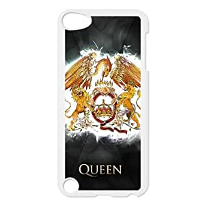 iPod Touch 5 Case White Queen Band GSI Phone Case Customized Design