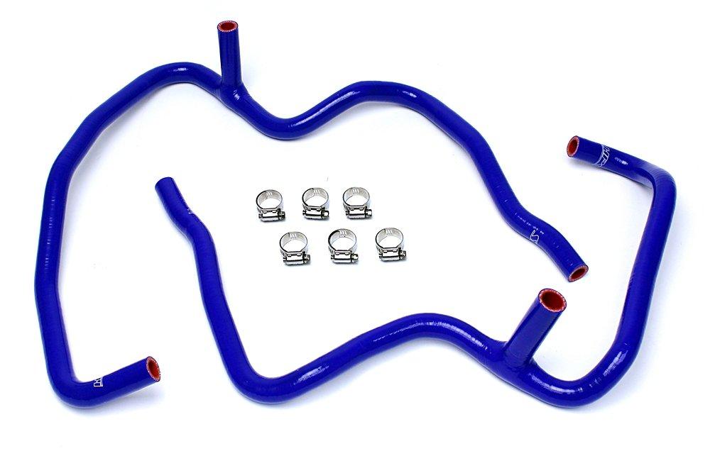 HPS 57-1472-BLUE XK Silicone Heater Hose Kit Coolant