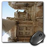 3dRose LLC 8 x 8 x 0.25 Inches Mouse Pad, Library of Celsus - Archaeology, Architecture, Ruins, Travel, History, Ancient, Turkey (mp_51684_1)