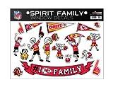NFL Kansas City Chiefs Spirit Family Window Decals