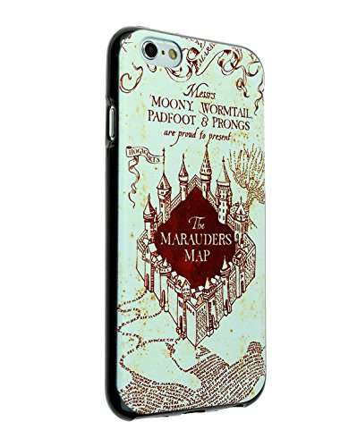 iPhone SE Case, IMAGITOUCH Harry Potter & Hogwarts Marauder's Map Case Anti-Scratch Shock Proof Soft Touch Slim Fit Flexible TPU Case Bumper Cover for iPhone 5 5S SE - Harry Potter Marauder Map