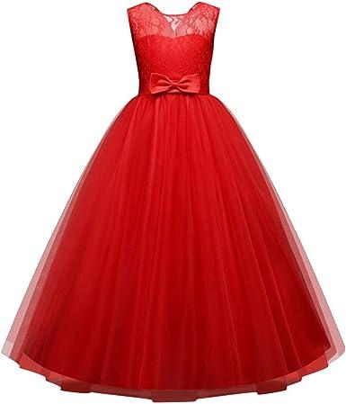 YUTING〓 Vestido de Fiesta de Tul de Encaje Falda de Princesa ...