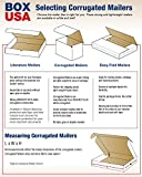 "BOX USA BML16164 Literature Mailers, 16"" x 16"" x"