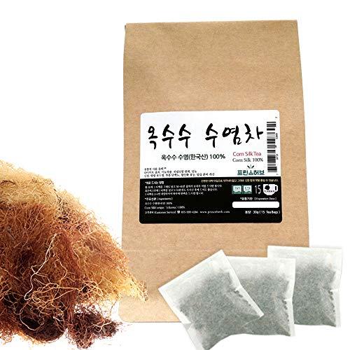[Medicinal Korean Herb Tea] 100% Natural Corn Silk Tea (Corn Silk) / 옥수수 수염 티백 차 30g (15 teabags)