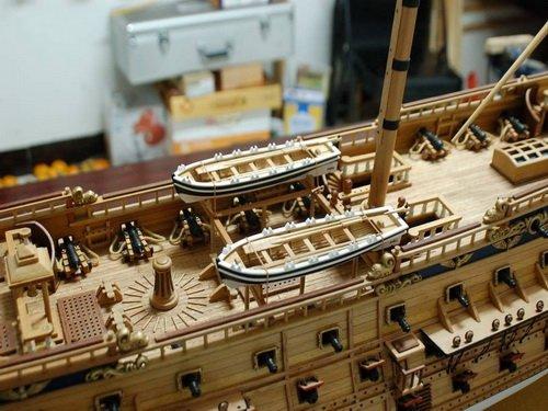 Amazon.com: Kit de modelo de barco de madera el San Felipe ...