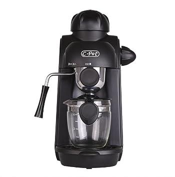 Máquina de Café Espresso Automática con Filtro Reutilizable y Función de Mantener Caliente 240 ml negro 235 * 165 * 300 mm Mejor Regalo - Negro: Amazon.es: ...