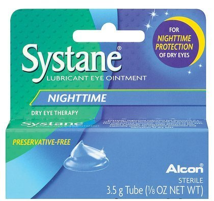 (Systane Nighttime Lubricant Eye Ointment 3.50 g (Pack of 3))