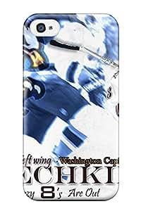 Premium Tpu Washington Capitals Hockey Nhl (58) Cover Skin For Iphone 4/4s