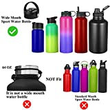 KMN Straw Lid for Hydro Flask Wide Mouth, Flex