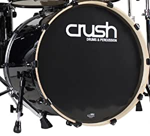 crush drums percussion c2b20x20 900 20 inch bass drum black wrap musical instruments. Black Bedroom Furniture Sets. Home Design Ideas